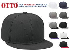 OTTO CAP オットーキャップ メンズ レディース 6パネル スナップバック WOOL BLEND FLAT VISOR