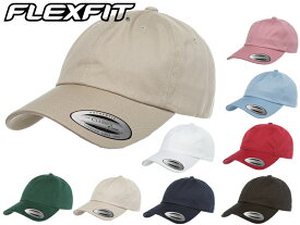 YUPOONG Flexfit キャップ 6パネル Low Profile Cotton Twill