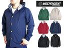 インディペンデント フード付きジャケット レインジャケット メンズ ナイロン Independent Mens Nylon Button Up Jacket