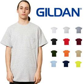 ギルダン GILDAN ポケット Tシャツ メンズ カラー S〜XLサイズ #2300 Ultra Cotton 6.0 oz Short Sleeve Pocket T-Shirt