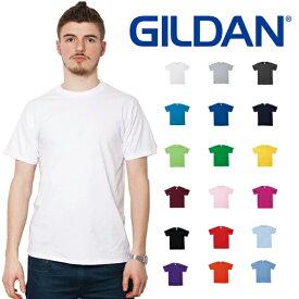 ギルダン GILDAN Tシャツ 4.5oz メンズ 白 XS〜XLサイズ #63000 Softstyle Short Sleeve T-Shirt for Japanese