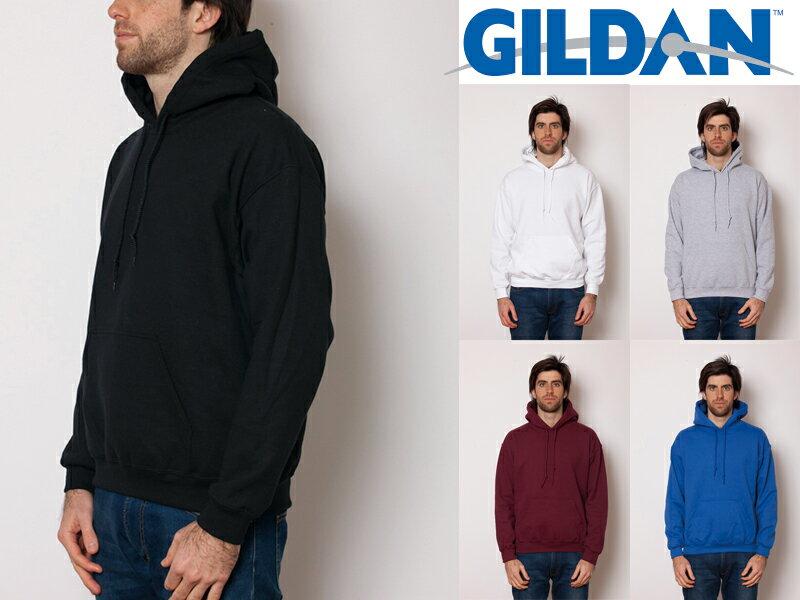 ギルダン パーカー フーデッド メンズ S〜XLサイズ GILDAN Heavy Blend 8.0 oz Hooded Parka #18500 Adult