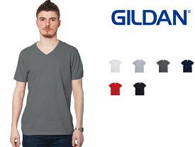 ギルダン GILDAN Vネック Tシャツ メンズ カラー S〜XLサイズ #64v00 Softstyle 4.5 oz Short Sleeve V-Neck T-Shirt