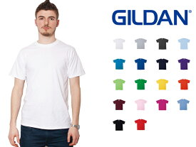 ギルダン GILDAN Tシャツ 4.5oz メンズ 白 XS〜XLサイズ #63000 Softstyle Short Sleeve T-Shirt for Japanese