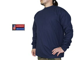 キャンバー【CAMBER】Tシャツ 長袖 8oz Max T-Shirt