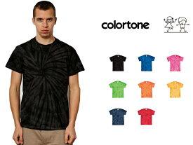 colortone カラートーン タイダイ Tシャツ Spider Tee