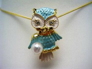 真珠 タイニーピン パール アコヤ真珠 5.5-5.75mm ホワイトピンク 真鍮 鳥 56421 イソワパール