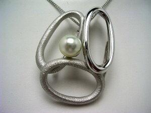真珠 ブローチ パール アコヤ真珠 8.96mm ホワイトシルバーブルー(ナチュラル) シルバー 62692 イソワパール