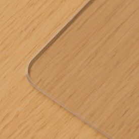 【PSマットのみ】テーブルマット 透明 非転写 両面転写防止 厚み 2mm 専用マット 保護マット 傷防止マット汚れ防止マット 傷防止 天板用 キズ防止マット 横135cm 縦80cm ア テンポ ダイニングテーブル 135cm用マット 228-00146