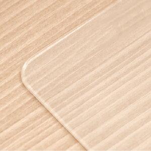 【PSマットのみ】保護マット テーブルマット 傷防止マット キズ防止マット 一生紀 オンド135 ダイニングテーブル 専用 家具 傷防止 天板用 透明 非転写 厚み 2mm