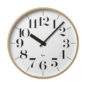 【マラソン中 PO最大44倍】壁掛け時計 おしゃれ 北欧 レムノス リキクロック 時計 壁掛け時計 壁掛け シンプル シャープ 時間 ウォールクロック 時 人気 有名 渡辺力 デザイナーズ オススメ タカタレムノス RIKI CLOCK / L WR-0401L 239-00015 在宅勤務