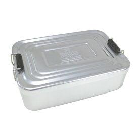 【合計5000円以上のご購入で送料無料】アルミランチボックス アルミニウム 弁当箱 お弁当男子 角型 ランチグッズ おしゃれ 無機質 アメリカン雑貨 アメカジ 懐かしい シルバー 工具箱 ROCCO AL Lunch Box (SV) 239-00089 キャッシュレス 還元