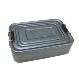 【合計5000円以上のご購入で送料無料】アルミランチボックス アルミニウム 弁当箱 お弁当男子 角型 ランチグッズ おしゃれ 無機質 アメリカン雑貨 アメカジ ビンテージ風 懐かしい グレー 工具箱 ROCCO AL Lunch Box (GY) 239-00092 キャッシュレス 還元