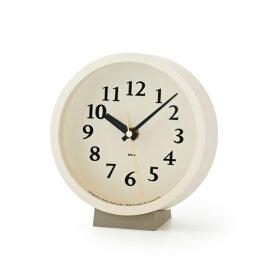 【マラソン中 PO最大44倍】【合計3980円以上ご購入で送料無料】 時計 置き時計 掛け時計 雑貨 プレゼント インテリア デザイン オシャレ シンプル 可愛い カフェ リビング ダイニング 寝室 ベッドルーム m clock[電波時計]/ ナチュラル ベージュ ブラウン 239-00197