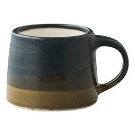 【合計3980円以上ご購入で送料無料】 マグカップ コップ キッチン 引っ越し祝い お祝い シンプル モダン ブラック ブラウン ベージュ こげ茶 ネイビー 黒 茶 藍 青 取っ手付き 陶器 110ml SLOW COFFEE STYLE SPECIALTY 239-00372
