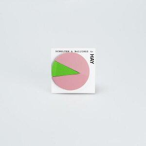 【合計3980円以上ご購入で送料無料】 HAY ヘイ カラー ノート (ピンク×グリーン) メモ 付箋 文房具 かわいい オシャレ カラフル デザイン お祝い ギフト プレゼント ピンク×グリーン HAY COLOUR NO