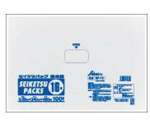 PE規格袋NO.16 厚み0.03×340×480 透明 500枚  K-16PS-016【ポリ袋】【ゴミ袋】【ごみ袋】【エコ袋】