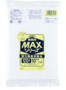 S-120 0.030厚みゴミ袋MAX 120L 半透明 200枚【送料無料】【ごみ袋】