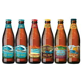 お歳暮 ビール 人気のハワイビール飲み比べセット コナビール 5種類6本セット 本州送料無料 四国は+200円、九州・北海道は+500円、沖縄は+3000円ご注文後に加算 父親 誕生日 プレゼント
