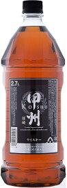 父の日 お酒 ウイスキー 甲州韮崎 オリジナル 2700ml 2.7L 1本 ギフト 父親 誕生日 プレゼント
