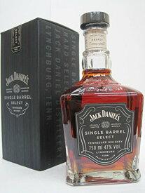 ウイスキー バーボン ジャックダニエル シングルバレル 47度 並行輸入品 箱入り 750ml 1本