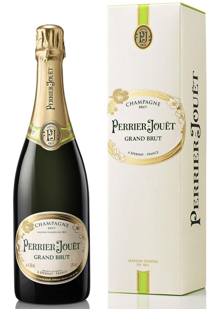 スパークリングワイン ペリエ ジュエ グラン ブリュット シャンパーニュ ギフト箱入り 750ml 1本
