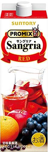 ワイン PROMIX サングリア レッド サントリー 1000ml 1本