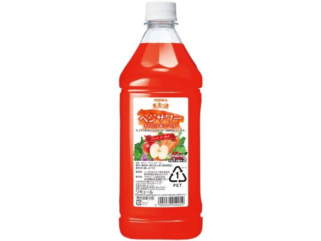 コンク 果実の酒 ベジサワー キャロット&アップル アサヒ 1800ml 1本