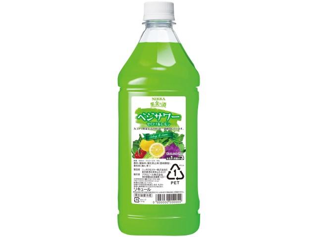 お中元 御中元 ギフト コンク 果実の酒 ベジサワー セロリ&レモン アサヒ 1800ml 1本 新発売 6月29日以降のお届け