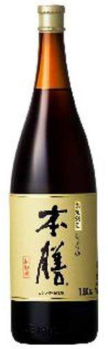 ヒゲタ醤油 本膳(ダンボ−ル入) 1800ml 1本