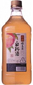 サントリー 特撰果実酒房 福島産白桃酒 1.8L×1本