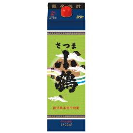 鹿児島県 小正醸造 さつま小鶴 白麹 (パック) 芋焼酎 1.8L