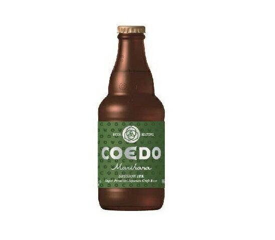COEDO 小江戸ビール 毬花 Marihana 333ml×24本 1ケース ビン コエドビール ☆ 新発売