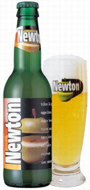 ベルギー ニュートン 青りんごビール 瓶 330ml クール便指定は通常送料に+324円