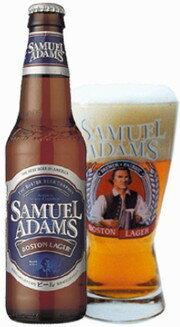 アメリカ サミエル・アダムズ ボストンラガー 瓶 355ml クール便指定は通常送料に+324円