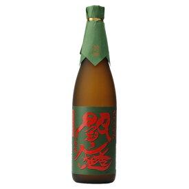 お歳暮 お酒 大分県 老松酒造 25゜ 常圧閻魔 グリーン 麦焼酎 1800ml 1.8L×1本 ギフト 父親 誕生日 プレゼント