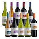 チリ ワイン コノスル ビシクレタ (ヴァラエタル) wine 10本 飲み比べセット 750ml × 10本本州送料無料 四国は+200円、九州・北海道は+500円、沖縄は+3000円ご注文後に加算