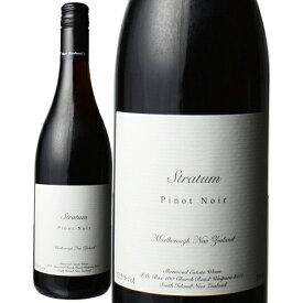 ニュージーランド 赤ワイン シャーウッド・エステート ストラタム ピノ・ノワール 750ml 1本 クール便指定は通常送料に+324円