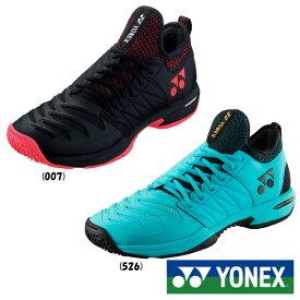 《クーポン対象》《送料無料》《新色》2019年11月下旬発売 YONEX パワークッション フュージョンレブ3 メン GC SHTF3MGC ヨネックス テニスシューズ クレー/砂入り人工芝用