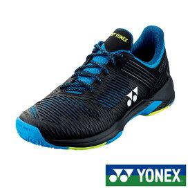 《送料無料》2019年12月下旬発売 YONEX パワークッション ソニケージ 2 ワイド GC SHTS2WGC ヨネックス テニスシューズ クレー・砂入り人工芝コート用