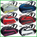 《送料無料》2017年8月中旬発売 YONEX ラケットバッグ6(リュック付)〈テニス6本用〉 BAG1812R ヨネックス バッグ