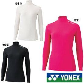 2019年8月下旬発売 YONEX レディース ハイネック長袖シャツ STBF1515 ヨネックス テニス バドミントン アンダー ウェア