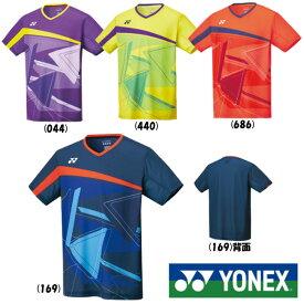 《送料無料》YONEX メンズ ゲームシャツ(フィットスタイル) 10334 ヨネックス テニス バドミントン ウェア