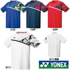 《クーポン対象》《送料無料》2020年1月下旬発売 YONEX メンズ ゲームシャツ(フィットスタイル) 10335 ヨネックス テニス バドミントン ウェア