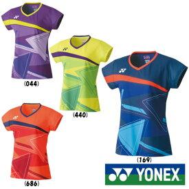 《500円OFFクーポン対象》《送料無料》2020年1月下旬発売 YONEX レディース ゲームシャツ 20521 ヨネックス テニス バドミントン ウェア