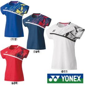 《5%OFF&送料無料クーポン対象》2020年1月下旬発売 YONEX レディース ゲームシャツ 20522 ヨネックス テニス バドミントン ウェア