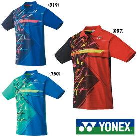 《送料無料》YONEX ユニセックス ゲームシャツ 10368 ヨネックス テニス バドミントン ウェア
