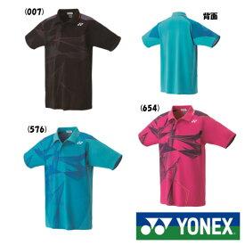《5%OFF&送料無料クーポン対象》2018年9月下旬発売 YONEX ユニセックス ゲームシャツ 10272 ヨネックス テニス バドミントン ウェア