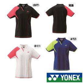 《10%OFFクーポン対象》《送料無料》2018年9月下旬発売 YONEX レディース ゲームシャツ 20443 ヨネックス テニス バドミントン ウェア