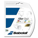 《レターパック可》BabolaT ファイバーツアー 130 BA241112 バボラ 硬式テニスストリング
